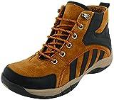 FOOTGEAR Men's Brown Leather Boots (10 UK)
