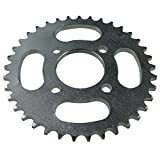 Mega Brands New 37 Tooth Rear Sprocket for 110cc 125cc ATV Quads Taotao Roketa Ice 50cc 70cc Dirt Bike SSR Coolster