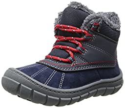 OshKosh B\'Gosh Marley2 Backpacking Boots (Toddler/Little Kid),Navy/Red,9 M US Toddler