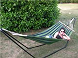 Ultracamp Large Coral Swinging Hammock With Frame