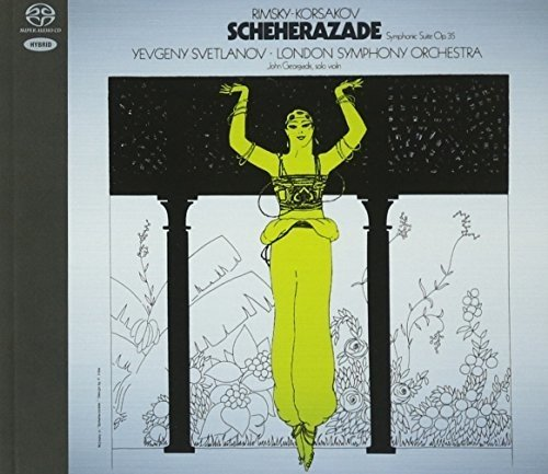 SACD : YEVGENY SVETLANOV - Scheherazade