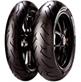Pirelli Diablo Rosso II Tire - Rear - 240/45ZR-17 , Position: Rear, Tire Size: 240/45-17, Rim Size: 17, Load Rating: 82, Tire Type: Street, Tire Construction: Radial, Tire Application: Sport, Speed Rating: W 2072400