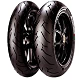 PIRELLI(ピレリ) バイクタイヤ DIABLO ROSSO2 リア 240/45ZR17 M/C (82W) チューブレスタイプ(TL) DUCATI DIAVEL用 2072400 二輪 オートバイ用