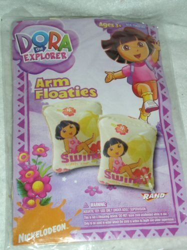 Dora The Explorer Inflatable Arm Floats - 1