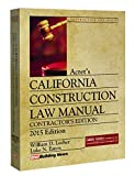 img - for 2015 Acret's California Construction Law Manual, Contractor's Edition book / textbook / text book