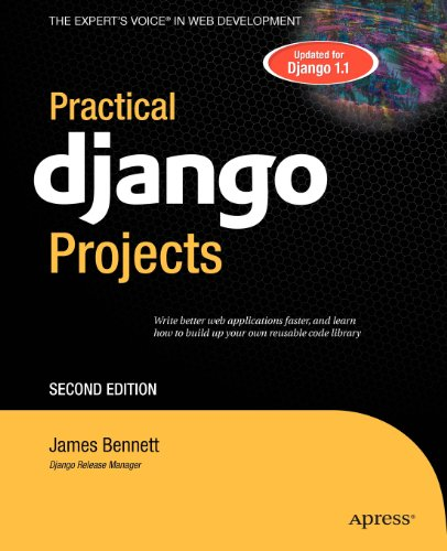 Practical Django Projects  1430219386 pdf