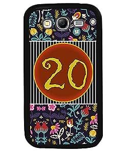 PrintVisa Metal Printed Numeric Designer Back Case Cover for Samsung Galaxy Grand 2 G7102-D4770