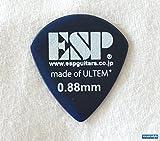 ESP ウルテム製ピック ×10枚セット ジャズ/ブルー/0.88mm [PJ-PSU088 B]