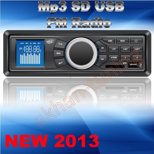 AR4 Autoradio Digital 4x50W FM Radio MP3 USB