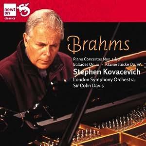 ブラームス:ピアノ協奏曲第1番&第2番 他