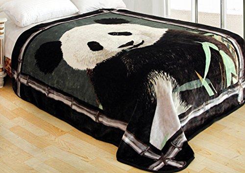 ShiGo-Heavy-Weight-Super-Soft-Luxury-Twin-size-Blanket-Panda