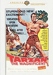Tarzan the Magnificent [DVD] [Region 1] [US Import] [NTSC] [1960]  [1942]