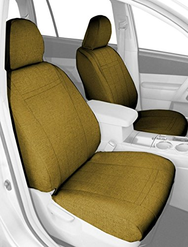 CalTrend Front Captain Chairs Custom Fit Seat Cover for Select Hummer H2 Models - Tweed (Yellow) (Hummer H2 Caltrend compare prices)