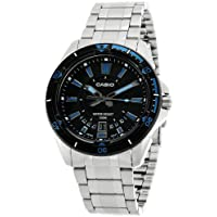 Casio Enticer Analog Black Dial Men's Watch - MTD-1066D-1AVDF (A502)
