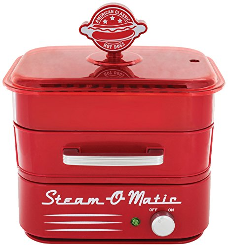 Why Should You Buy Smart Planet HDS1 Steam-O-Matic Hot Dog Steamer, Red