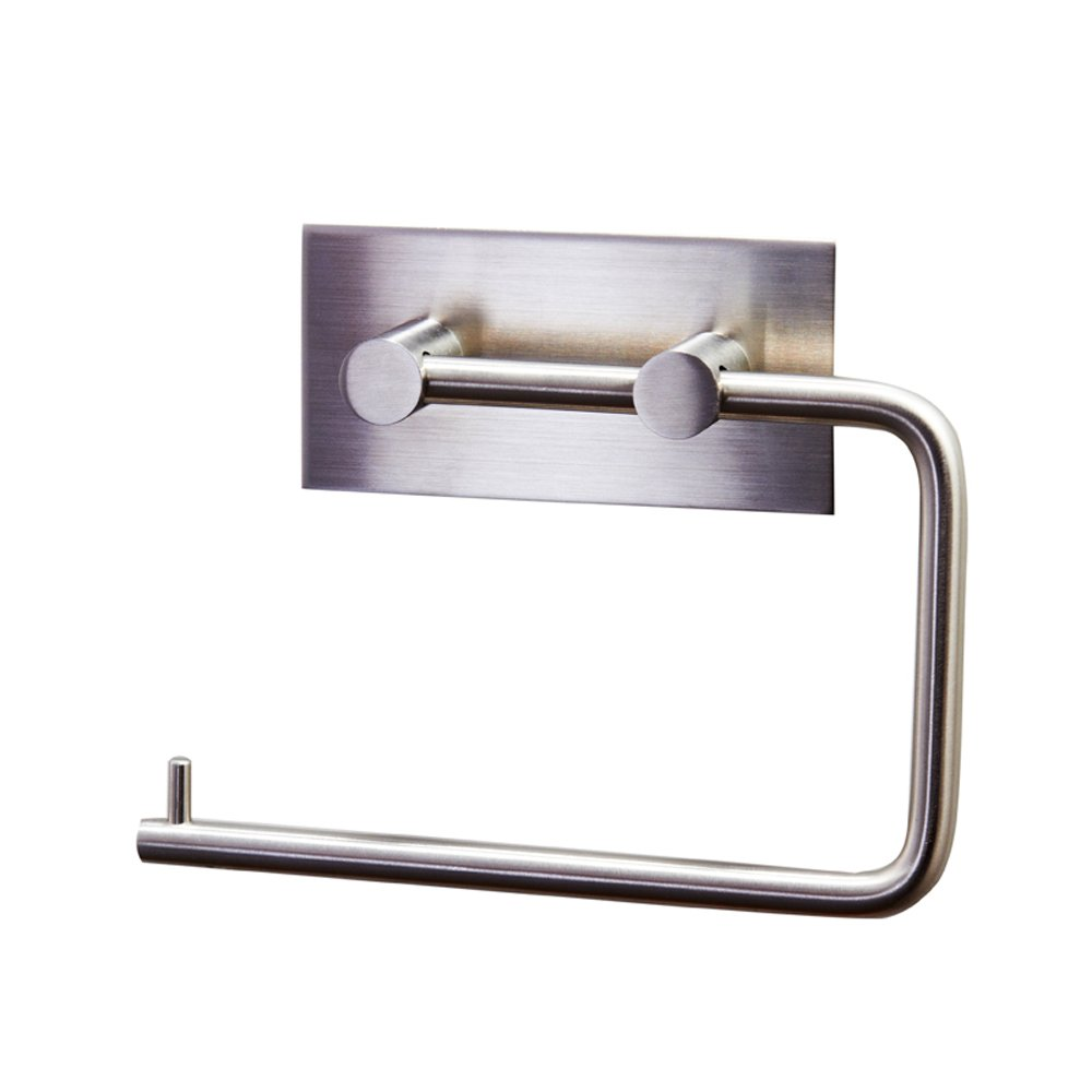 KES Tissue Roll Hanger Wall Mount Contemporary Style, Brushed Finish