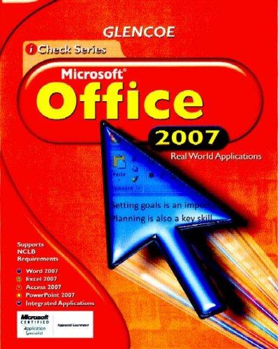 iCheck Microsoft Office 2007, Student Edition (ACHIEVE MICROSOFT OFFICE 2003)