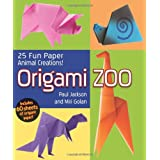 Origami Zoo: 25 Fun Paper Animal Creationsby Paul Jackson