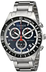 Tissot Men's T0444172104100 PRS516 Stainless Steel Chronograph Watch