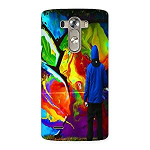 Ajay Enterprises Coloefull Wall by Valre Back Case Cover for LG G3
