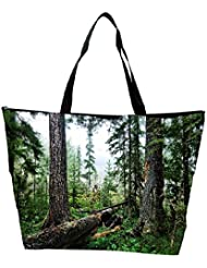 Snoogg Abstract Broken Tree Designer Waterproof Bag Made Of High Strength Nylon