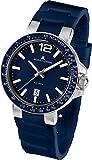 Jacques Lemans Men's Quartz Watch Milano 1-1695C with Rubber Strap