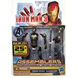 Iron Man Mark 42 #01 Iron Man 3 Movie Assemblers Action Figure