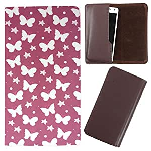 DooDa - For Karbonn A5s PU Leather Designer Fashionable Fancy Case Cover Pouch With Smooth Inner Velvet
