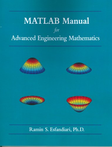 MATLAB Manual for Advanced Engineering Mathematics