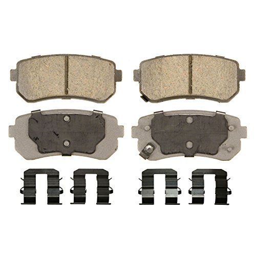Disc Brake Pad Set-ThermoQuiet Disc Brake Pad Front Wagner QC476
