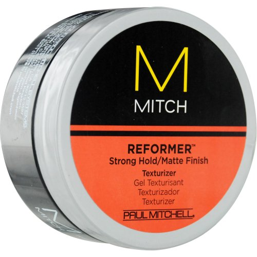 Paul Mitchell Men by Paul Mitchell Mitch Reformer Strong Hold/Matte Finish Texturizer for Men, 3 Oun..