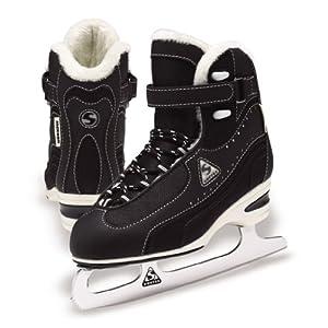 Jackson Softec Vantage Ice Skates - ST3000 Black Ladies Figure Ice Skates by Jackson