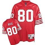 Reebok San Francisco 49ers Jerry Rice Premier Throwback Jersey Extra Large