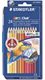 Staedtler Watercolor Pencils, Box of 24 Colors (14410ND24)