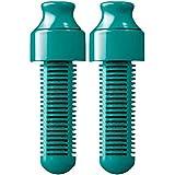 Water Bobble Ersatzfilter 2er Set für Trinkflaschen 550ml/750ml/1l türkis