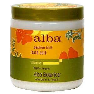 ALBA BOTANICA Hawaiian Passion Fruit Bath Salt 20 oz