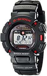Casio Men's GW9010-1 G-Shock Mudman Solar Atomic Rally Watch