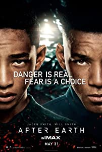"Will Smith and his real life son Jaden star in this science fiction movie ""After Earth."""