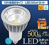 <LED電球・蛍光灯>12V低電圧タイプLEDスポットライト 口金EZ10 白色