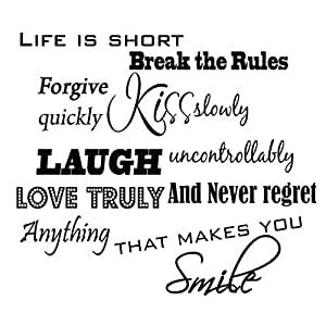 Life is short break the rules forgive 6 home decor rules to break now