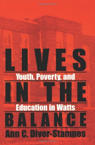 Lives in the Balance (Suny Series, Urban Voices, Urban Visions)