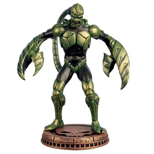 Marvel Amazing Spider-Man Scorpion Black Pawn Chess Piece with Collector Magazine #84 (Figure Four Weekly compare prices)