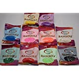 Pack of 10 Assorted Colours Rangoli Powder/Sand