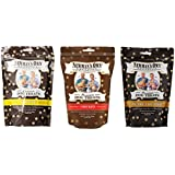 Newman's Own Organics Premium Dog Treats Variety Pack Medium Size, 10-Ounce Bags (Pack of 3)