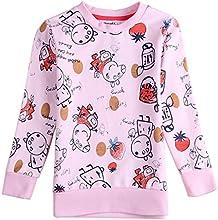 Peppa Pig Little Girls39 Long-Sleeve Printing Animal Cotton T Shirts