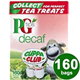 PG TIPS DECAF 160TEABAGS