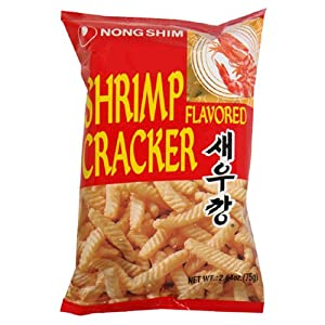 Nongshim Shrimp Cracker 264-ounce Packages Pack Of 30 by Nongshim