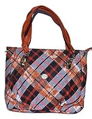 Basta Women's Hand-held Bag (Orange)