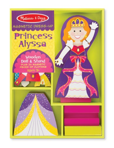 Melissa & Doug Princess Alyssa - Magnetic Dress Up - 1