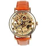 YESURPRISE OUYAWEI スタンダード 手巻き 腕時計/アナログ表示 ウォッチ/合成皮革 バンド ファッション メンズ 時計 1181-2